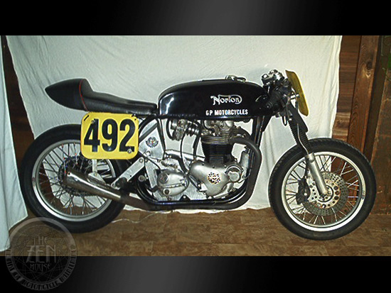 1968 Norton Featherbed Race Bike